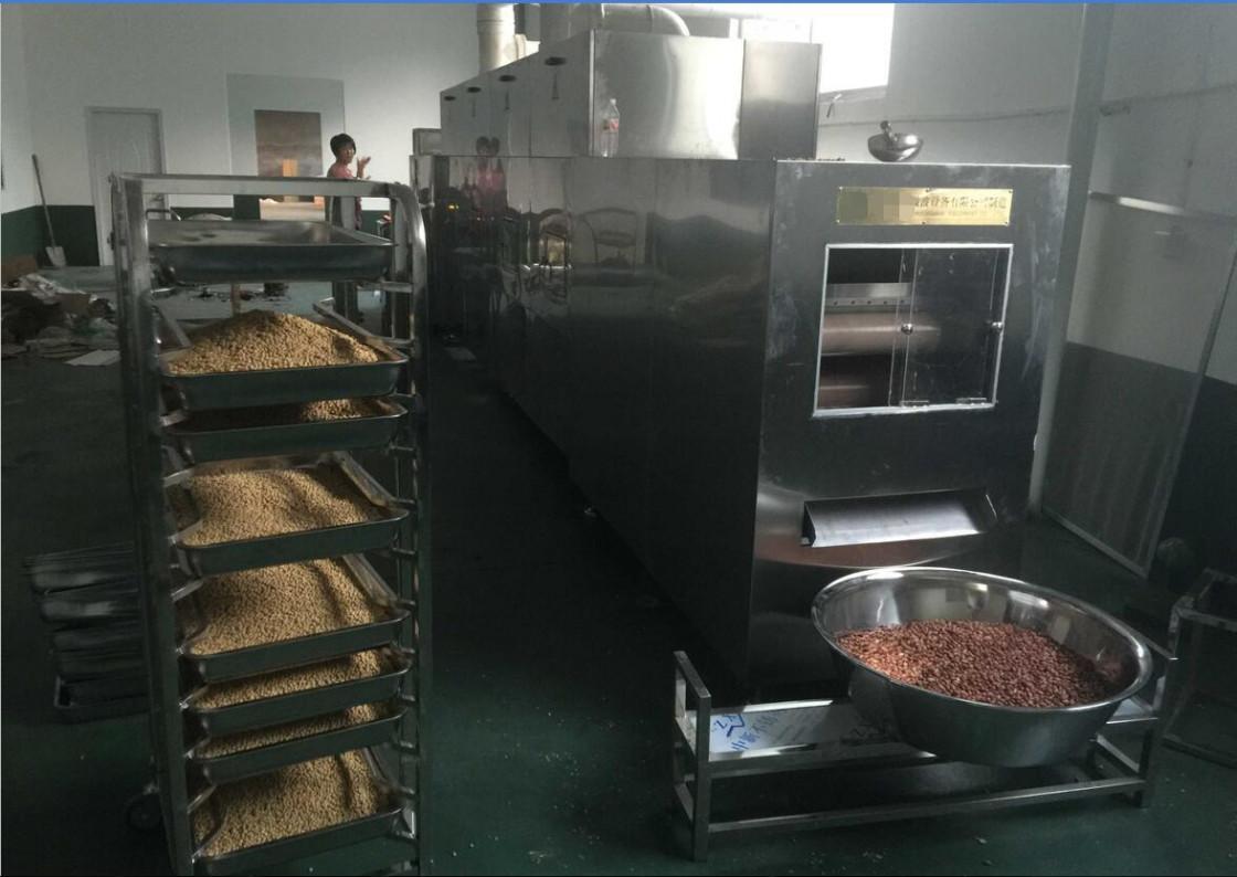 Peanut Microwave Frying Machine