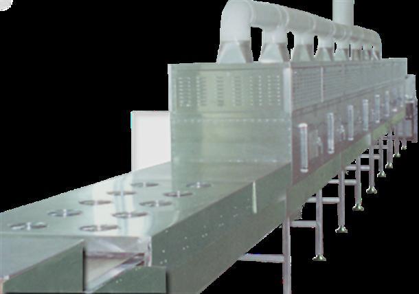 Flattening Microwave Drying Machine