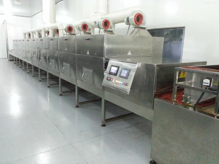 Instant Noodle Food Microwave Sterilization Machinery