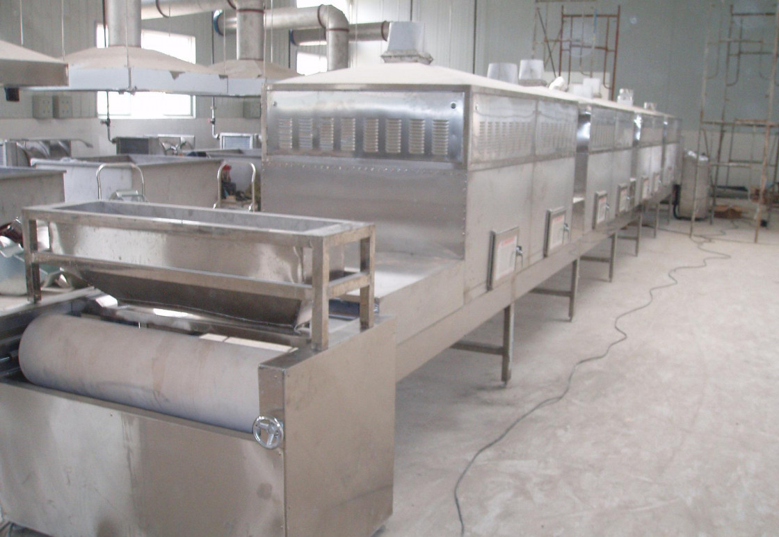 Roasting Microwave Sterilization Machine