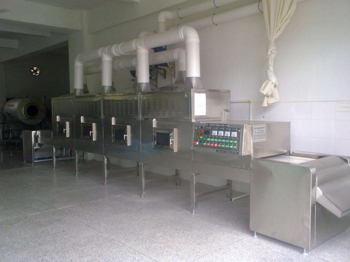 Macaroni Pasta Microwave Drying Machine