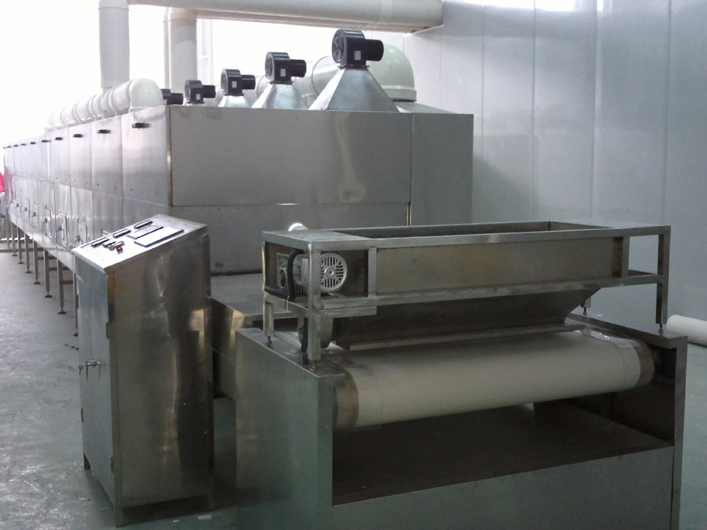 Fish Feed Pellet Microwave Drying Machine