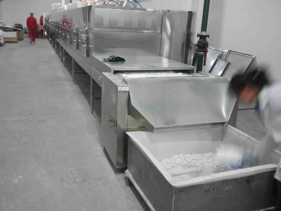 Flouring Microwave Drying Machine