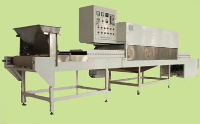 Latex and Rubber Microwave Drying Machine