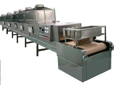 Batter Mixing Microwave Drying Machine