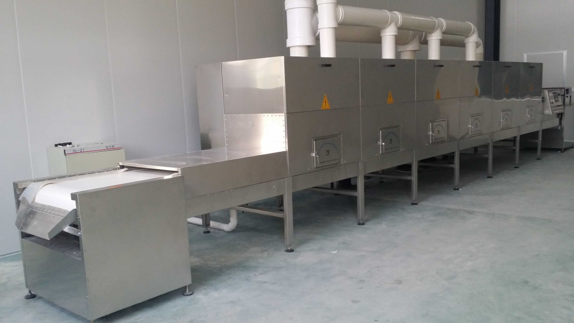 Tunnel-type Microwave Drying and Sterilization Equipment