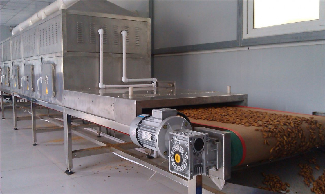 Walnut Shelling Microwave Drying Equipment