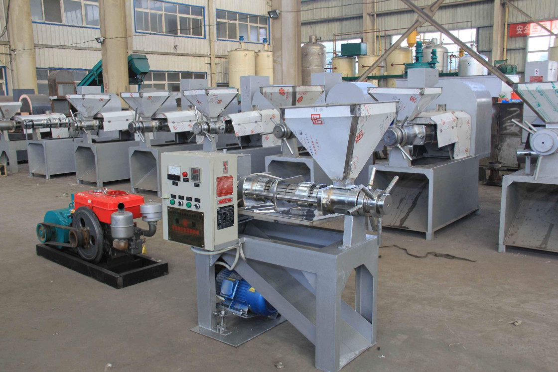 Crude Palm Kernel Oil Press Production Line