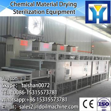 Continuous belt chemical dryer mahcine / talcum powder microwave sterilizer machine