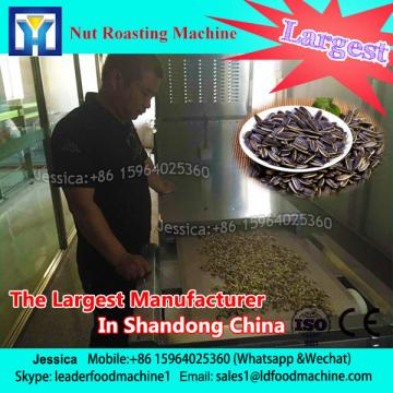 Melon seeds / peanuts microwave roasting drying sterilizaion equipment