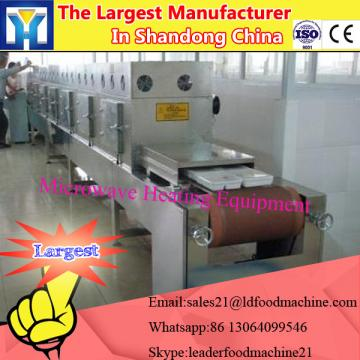Energy saving tunnel conveyor belt type tea dryer sterilizer