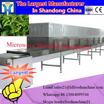 Stainless steel tunnel microwave green tea dryer/green tea drying machinery