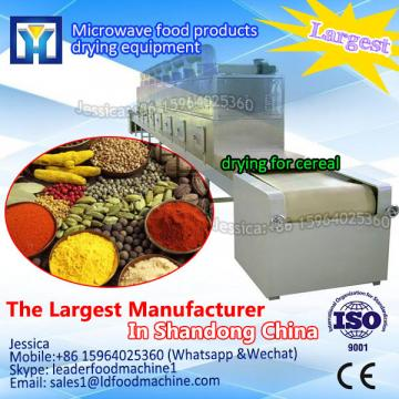 High quality vegetable microwave dehydration sterilization equipment