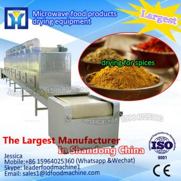 Customized belt type microwave drying heating sterilization machine