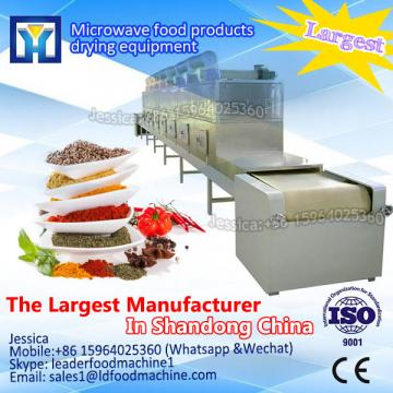 Easy to operate Microwave goji berry drying machine