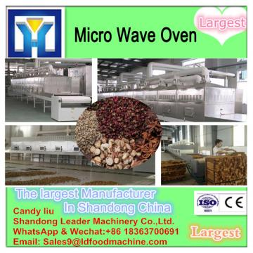 automatic high quantity Microwave vegetable drying equipment