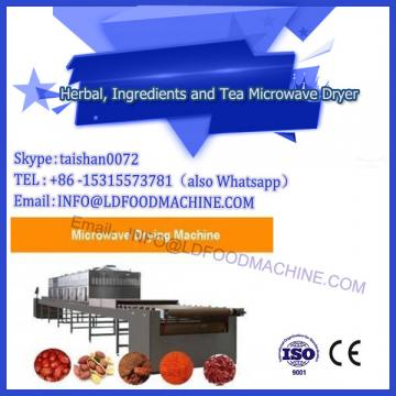 ADASEN Tunnel belt Microwave Black Tea Drying Equipment