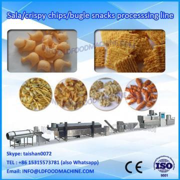 automatic fried bugle snacks food extruder make machinery