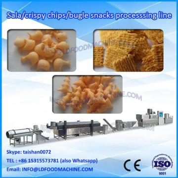 automatic fried bugles food twin screw extruder make machinery