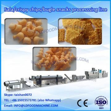 fried corn flour bugles twin screw extruder machinery