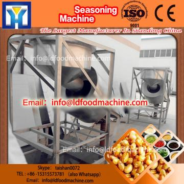 stainless LD single roller seasoning machinery drum flavoring coating machinery