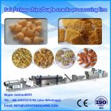Twin screw extruder fried wheat flour chips snacks food machinery production plant