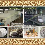 30KW Herbs 100-1000kg/h tunnel conveyor belt continuous microwave drying&sterilization machinery