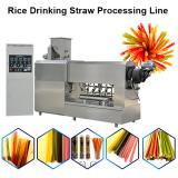 Rice Straw Equipment Color Edible Drinking Straw Production Line Green Food Straw Korea Extruder Equipment
